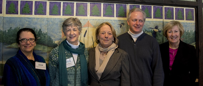 Nashua River Wild and Scenic River Study Act Press Conference - photo by Carolyn Perkins