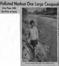 1960s  Marion Stoddart leads drive to clean up the Nashua River