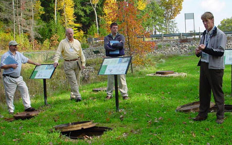 NRWA organized a tour of the University of New Hampshire's Stormwater Center