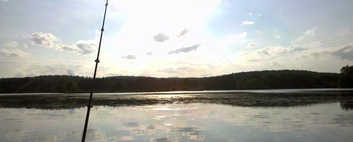 Bass fishing on Pepperell Pond - Photo by Jeff Cronstrom