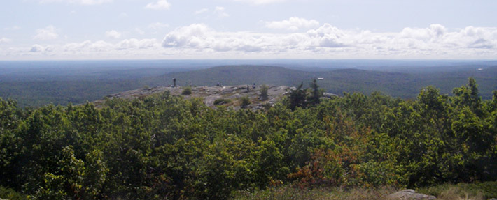 View of the Nashua River watershed from Mt. Watatic - Photo by Richard Brockelman