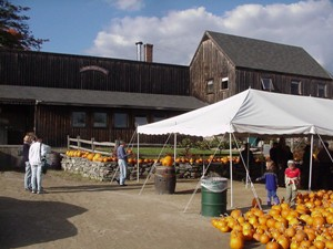 Farmstands, like this one in Bolton, abound in the watershed