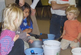 Hands on exploration of science and nature for preschoolers