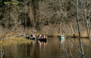 NRWA's River Classroom out on the water – Photo by Brett Hall